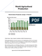 area yield production