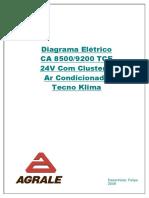 Diagrama Caminhão 8500 9200 4.12 TCE - 24V