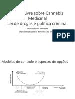 Apresentação - Lei de Drogas e política criminal - Dr Cristiano Avila Maronna