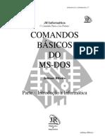 COMANDO BÁSICO DO D.O.S