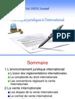 Techniques Juridiques a l'International2