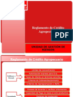 cambios Circular 119 - Reglamento Crédito agropecuario