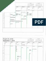 Coroner's calendar 2018