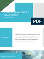 Poluição dos oceanos e da atmosfera