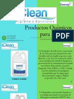 Productos químicos de IClean