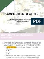 MMM TOOLMAKER CERTIFICATION General Knowledge Training Program - Portuguese