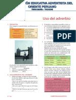 CL_3° Año_Uso del adverbio