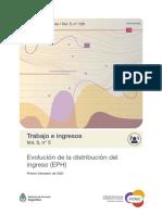 Distribución del ingreso 1°trim2021