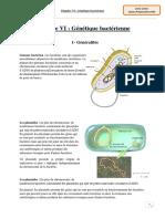 Chapitre 6-1 Génétique bactérienne
