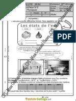 Devoir de Synthèse N°2 Collège pilote - Physique - 7ème (2015-2016)  Mme Hanen Othmani (2)