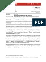 Norma 019-2020 - COVID-19 – Estratégia Nacional de Testes Para SARS-CoV-2 - Atualizada a 15.06.2021