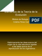 Elementos de la teoría de la evolución
