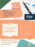 Estructura de Estados Financieros