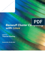 Sterling T. (ed.) Beowulf cluster computing with Linux (MIT, 2002)(510s)