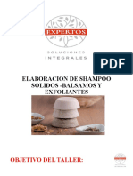 PRESENTACION ELABORACION DE SHAMPOO- EXFOLIANTES Y BALSAMOS