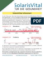 Infoblatt Moosbeere-Cranberry Mail