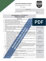 PCPR-Investigador-e-Papiloscopista-14-Simulado-Folha-de-Respostas