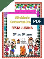 Atividade Contextualizada Festa Junina
