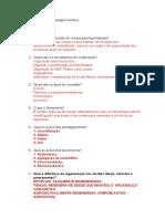 Estudo dirigido de Patologia Humana AS