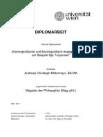 Mittermayr, Kosmopolitische Und Kosmopolitisch-Engagierte Literatur