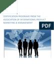 AIPMM Certification Procedure - 2009-2010