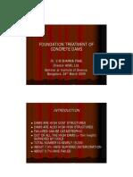 foundation treatment vms