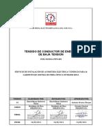 INEL-SSOMA-PETS-003 TENDIDO DE CONDUCTOR DE ENERGIA DE BAJA TENSION