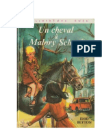 Blyton Enid Malory School 3 Un cheval à Malory School