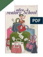 Blyton Enid Malory School 6 Adieu à Malory School