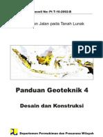 Panduan Geoteknik