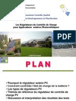Presentation Regulateurs