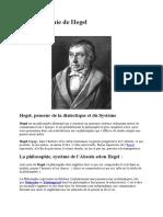 La Philosophie de Hegel