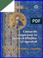 Canon de Rugăciune La Soborul Sfinţilor 12 Apostoli
