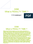 What is Penalty Time