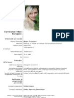model_cv_Curriculum_Vitae_European_romana