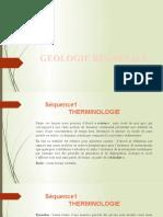 GEOLOGIE REGIONALE POWER
