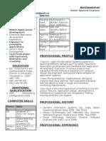Resume-Backia