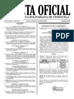 Gaceta Oficial N°42.140