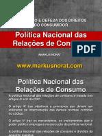 003 - POLÍTICA NACIONAL DAS RELAÇÕES DE CONSUMO