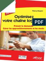 Optimisez Votre Chaîne Logistique (Thierry Roques, Christophe Estay)
