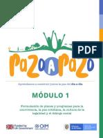 Módulo No. 1 PAZo a PAZo 2 versión