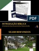 Introdução Bíblica - Aula 01