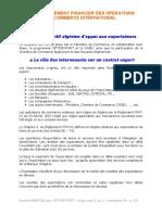 Environement Financier Des Opérations Du Commerce International - Module 02