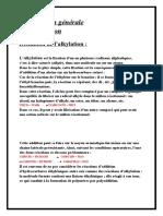 Alkylation Du Benzène