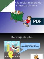 trabajo de recicleje de Felipe Pinhal