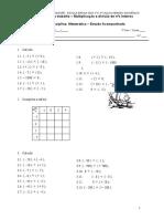 Ficha de trabalho - inteiros relativos2