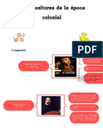 Compositores Colonial