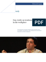 Irrationality in the Workplace by Dan Ariely