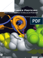 ZINC FINGER PROTEINS FROM ATOMIC CONTACT TO CELLULAR FUNCTION