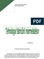 Tehnologia Fabricarii Marmeladelor